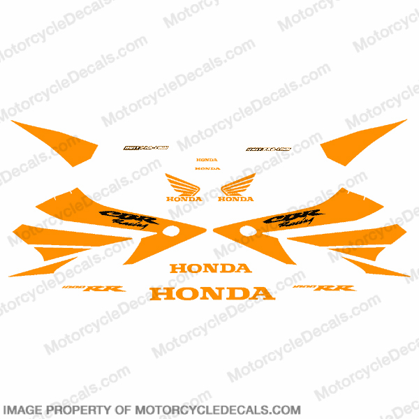 1000RR Full Factory Replica Decal Kit - Orange