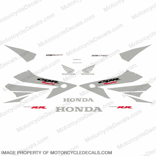 1000RR Full Factory Replica Decal - Silver