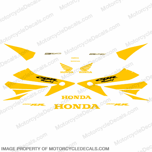 1000RR Full Factory Replica Decal Kit - Yellow