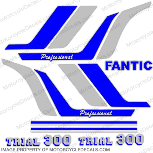 Fantic Trail 300 Decal Kit