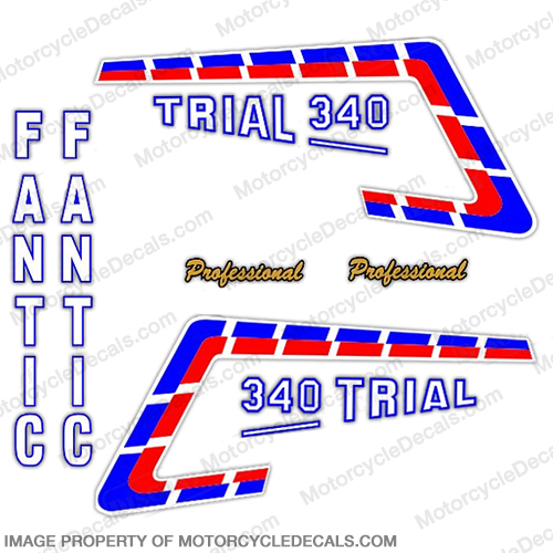 Fantic Trail 340 Decal Kit