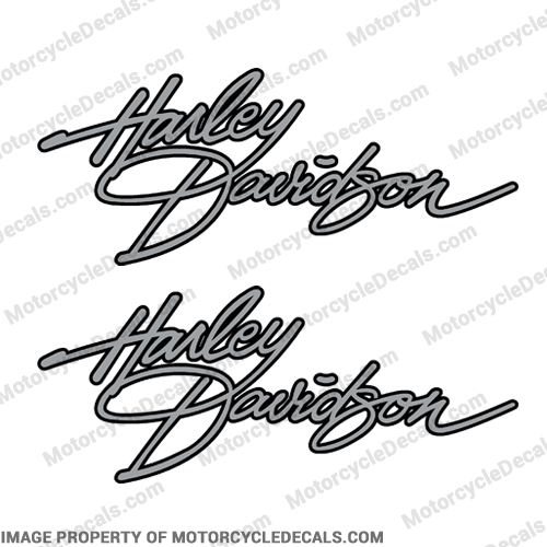 Harley-Davidson FLH 1982 Fuel Tank Motorcycle Decals (Set of 2) - Any Color