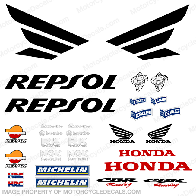1000RR Honda Repsol Decal Kit - 2005